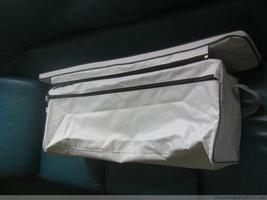 underseat bag with cushion  for 12 ft to 13 ft inflatable boat dinghy image 2