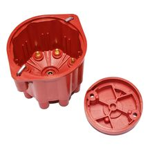 8-Cylinder Female Pro Series Distributor Cap & Rotor Kit (Red) image 3