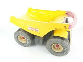 Vintage Big Yellow/Red Tonka Dump Truck Collectible Moving parts Large Toy  - $62.28