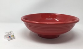 "Fiesta Scarlett Red Pedestal Bowl 9 11/16"" Diameter, 3 5/8"" High - Nice! - $31.99"