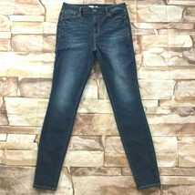 Old Navy Womens Jeans size 10 Long Tall Dark Wash Skinny Ankle Cotton St... - $24.26