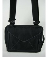 Black Shoulder Tablet Media Bag w/Straps - Very Good Condition! - $15.10