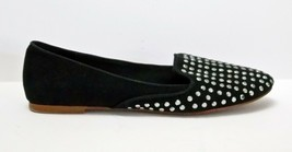Zara Trafaluc Smoking Slippers Studded Black Flats Shoes size 37 USA 6.5 - $19.77