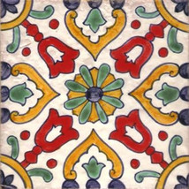 Portuguese Tiles Elvas   Repetitive Patterns   Traditional Hand Painted ... - $25.00