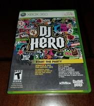 DJ Hero Xbox 360 Mint **Inv01552** - $6.17