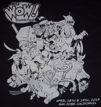 Big Wow Comic Con T Shirt Tote Bag Batman Bender Futurama Star Wars R2D2... - $19.79
