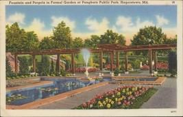 Fountain Pergola Formal Garden Pangborn Public Park Hagerstown - $5.00