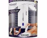 Yes Finishing Touch Hair Remover Instant & Pain Free Sensa Light