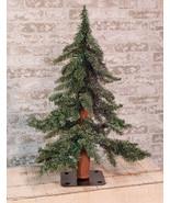 Beautiful Downswept 2' green table top Christmas tree - $39.59