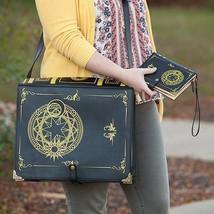"""Black Magic Spellbook Messenger Bag 15"""" Laptop Collectible Gift Wizard W... - $76.04 CAD"""