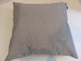 Vera Wang Home Crochet Lace Square Deco pillow NWT - $58.15