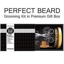 Beard Kit Beard Care & Grooming Kit for Men Gifts, Natural Organic Beard Oil, Be image 9