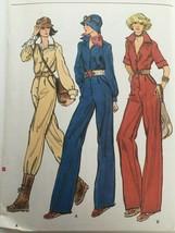 Vogue Sewing Pattern 9411 Size 8 Misses Jumpsuit 1970s Vintage Semi-Fitt... - $16.99