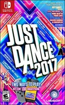 Just Dance 2017 Switch Dancing Video Game Console Family Kids Group Part... - $97.63
