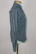 Abercrombie Boys Long Sleeve Striped Button Up Sz M - $5.57