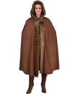 Deluxe Medieval / Viking Fur trimmed Hooded Cloak  - $36.69