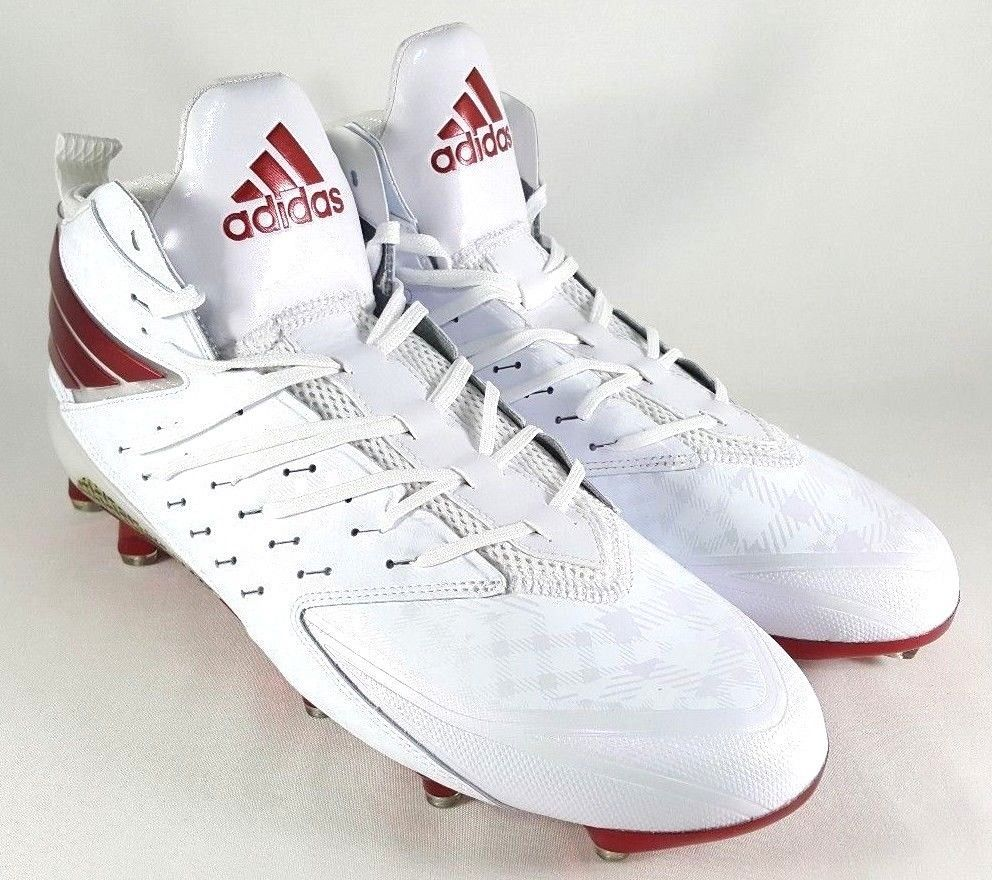 sneakers for cheap 34c7a 9d702 57. 57. Adidas Freak X Kevlar Football Cleats Size 12.5 Mens White Dark Red  Chrome Boots · Adidas Freak ...