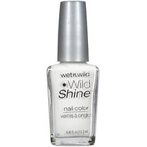 Wet n Wild Wild Shine Nail Color C449C French White Creme by Wet 'n Wild - $2.74