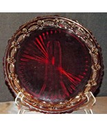 Cape Cod Ruby Red AA20-90CC31 Dinner Plate - $49.95