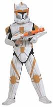 Star Wars Clone Wars Child's Clone Trooper Deluxe Commander Cody Costum... - $49.90 CAD
