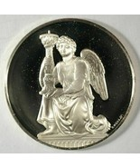 1972 Kneeling Angel Proof Sterling Silver Round (1.17 oz ASW) - $75.00