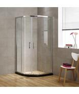 Glass Corner  Shower Doors Quadrant Shower Enclosure Walk in Shower Wall... - $598.98