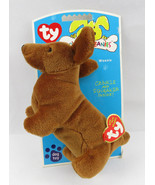 Ty Bow Wow Beanies Weenie the Dachshund Dog Toy Crinkle Squeaker Inside - $49.00