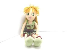 "Dan Dee Collectors Choice Plush Stuffed Doll Toy 17"" Yarn Hair - $11.87"