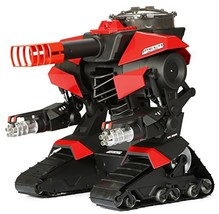 Bright M.E.C.H. Shooting Robo Cannon R/C Vehicle, Black/Red - $254.01