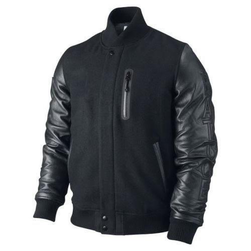 """KOBE Destroyer XXIV Jacket """"Battle"""" - Leather Sleeves -100% Money Back Guarantee image 2"""