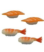 Set of 4 Artificial Lifelike Sushi Simulation Fake Food Home Shops Decor... - $18.25