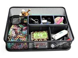 Mesh Collection Desk Accessories,Elegant Drawer Organizer Tray - $20.97