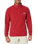 Columbia Men's Harborside II Fleece Pullover in Red, Size XXL - $39.59