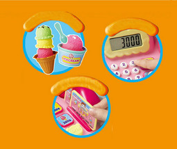 Toritori Icecream Store Shop Cash Register Calculator Calculation Roleplay Toys image 2