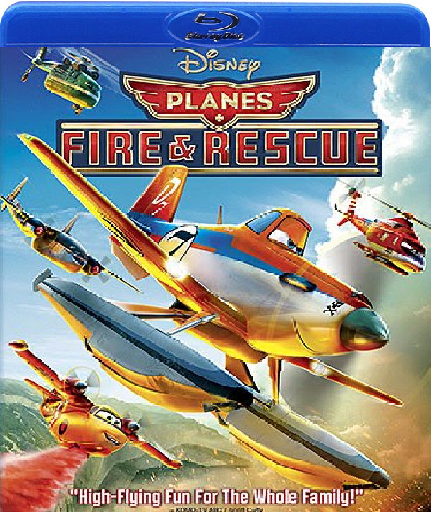 Disney/Pixar Planes Fire and Rescue (Blu-ray)