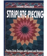 Striplate Piecing Circle Designs with Speed and Accurady Sewing Quilt Cr... - $14.00
