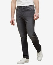 Kenneth Cole New York, Men's Straight Stretch Fit Jean , Grey WASH ,32Wx32L - $18.99