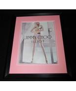 2015 Jimmy Choo Illicit Framed 11x14 ORIGINAL Advertisement - $32.36