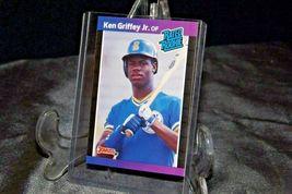 1989 DonRuss Rated Rookie Ken Griffey Jr. AA20-BTC3028 Baseball Trading Cards #  image 4