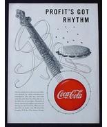 "MEGA RARE 1950 COKE COCA-COLA AD! 9"" x 12"" PROMOTIONAL ADVERTISEMENT MUS... - $24.11"