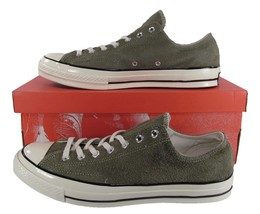 733fd0e16f89 Converse Chuck Taylor All Star 70  39 s Ox Suede Leather OLIVE GREEN 157588C
