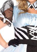 Leg Avenue Women's 3 Piece Psychedelic Alice Costume image 2