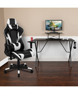 Black Gaming Desk & Chair Set - $303.00