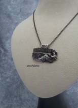 Spearfishing Necklace-925 Silver-Handmade - $90.00