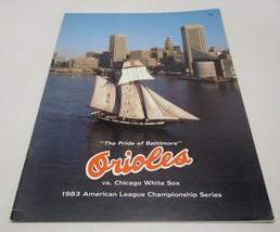 1983 Orioles Vs Chicago White Sox American League Championship Series Ma... - $17.57