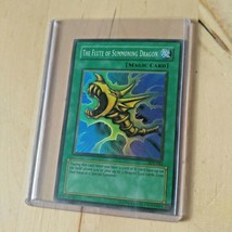 Vintage Yu-Gi-Oh First Edition The Flute Of Summoning Dragon Card - $4.74