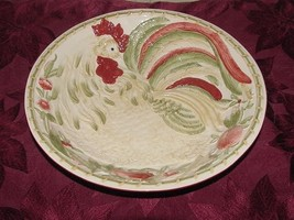 Royal Doulton Chanticlair Large Sculpted Rooster Serving Bowl Round TC-1301  NEW - $32.50