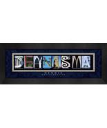 Dennis, Masschusetts Framed Letter Art - $39.95