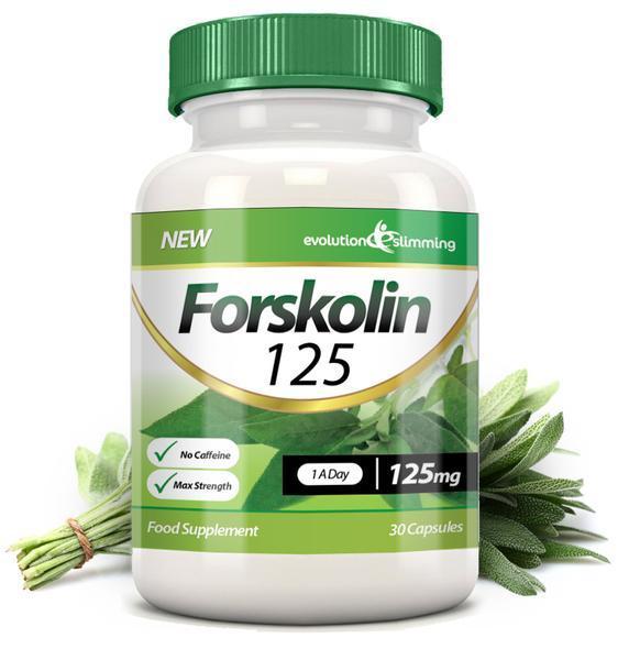 Forskolin 125 125mg Capsules 30 Capsules - $38.99