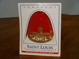 NIB Vintage Saint Louis Gateway to the West 24K... - $19.98